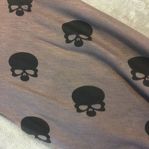 Raffie Accessories - NWT Raffle From Nordstrom Skull Wrap/Scarf